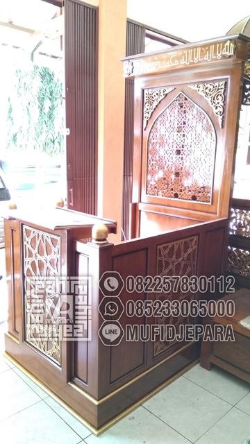 Mimbar Masjid Minimalis Minimalis