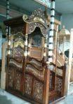 Motif Mimbar Ukir-ukiran Masjid Di Sukabumi