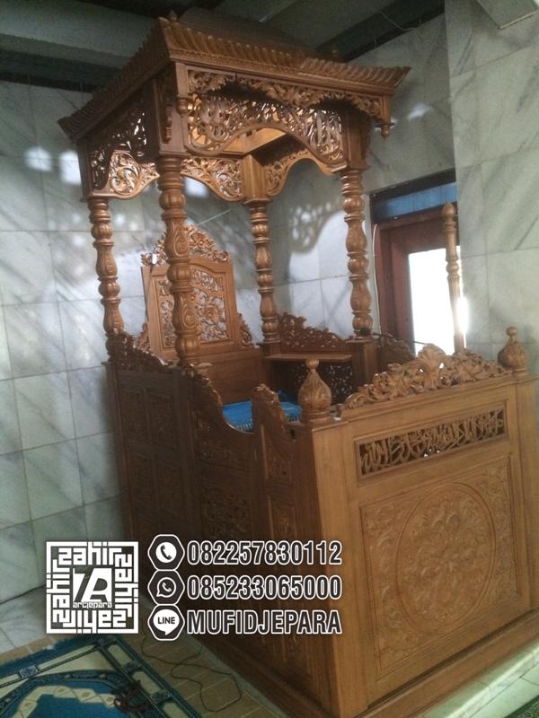 Mimbar Di Masjid Model Terbaru