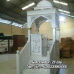 Mimbar Di Masjid Ukiran Jepara