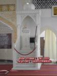 Bentuk Mimbar Ukir-ukiran Masjid Besar