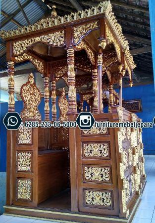 Mimbar For Mosque Ukiran