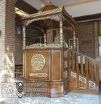 Mimbar Imam Di Masjidil Minimalis