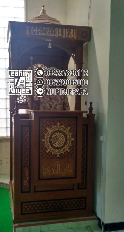 Mimbar Imam Di Masjidil Unik