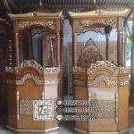Mimbar Imam Masjid Ukir Jepara