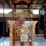 Bentuk Mimbar Meja Podium Masjid Di Semarang