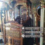 Model Mimbar Jati Jepara Masjid Di Sukabumi
