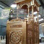 Mimbar In Mosque Wilayah