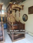 Mimbar Khutbah Masjid Ukir Jepara
