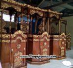 Mimbar Khutbah Masjid Ukiran
