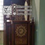 Mimbar Masjid Terindah Minimalis