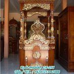 Desain Mimbar Jati Jepara Masjid Di Cikarang