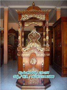 Mimbar Masjid Agung Terbaru