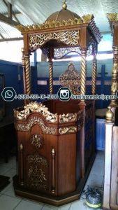 Mimbar Masjid Agung Ukir Jepara
