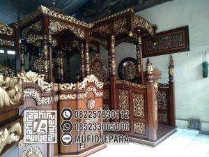 Mimbar Masjid Jati Jepara Unik
