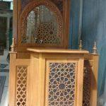 Mimbar Masjid Jepara Minimalis