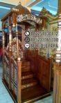 Mimbar Masjid Jepara Terbaru
