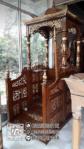 Mimbar Masjid Jepara Ukiran Klasik Jepara