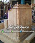 Mimbar Masjid Kayu Unik