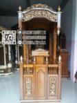Bentuk Mimbar Kayu Standar Masjid Di Brebes