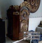Mimbar Masjid Kecil Ukir Jepara