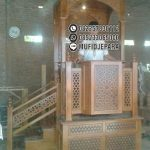 Mimbar Masjid Minimalis Ukiran Jepara