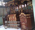 Mimbar Masjid Modern Ukir Jepara