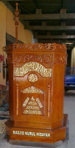 Mimbar Masjid Sederhana Unik,mimbar masjid sederhana, model mimbar minimalis, ukuran mimbar masjid minimalis, gambar mimbar minimalis, contoh mimbar masjid, harga mimbar masjid murah