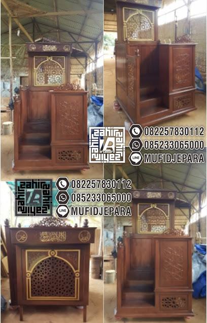 Mimbar Masjid Terbaru Terbaru