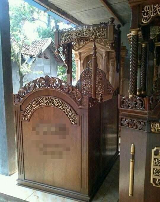 Mimbar Masjid Terbaru Ukir Jepara