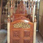 Model Mimbar Meja Podium Masjid Di Pekalongan