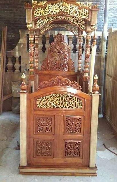 Mimbar Masjid Terbaru Ukiran Jepara