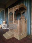 Mimbar Masjid Terindah Terbaru Mimbar 3 Tangga