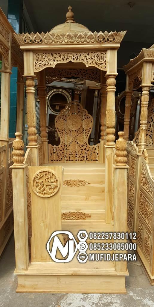 Mimbar Masjid Terindah