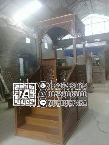 Mimbar Masjid Termewah Minimalis