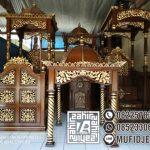 Mimbar Masjid Unik