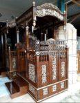 Model Mimbar Meja Podium Masjid Di Bekasi