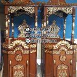 Mimbar Masjidil Ukiran Jepara