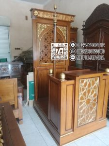 Mimbar Of Masjid Minimalis