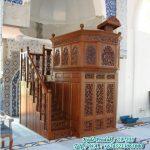 Motif Mimbar Ukir-ukiran Masjid Di Jakarta
