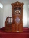 Motif Mimbar Meja Podium Masjid Di Tegal
