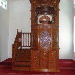 Motif Mimbar Jati Minimalis Masjid Di Tegal