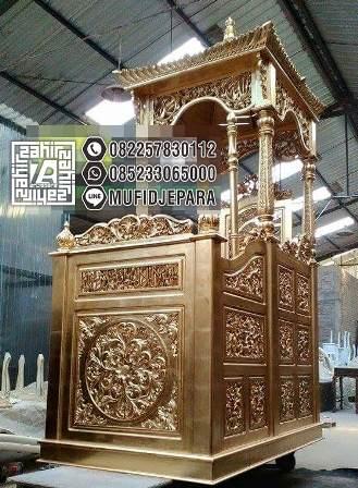 Mimbar Of Mosque Terbaru