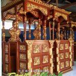Mimbar Of Mosque Wilayah