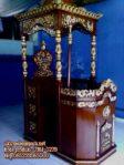 Mimbar Pada Masjid Ukiran