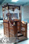 Motif Mimbar Jati Jepara Masjid Di Pekalongan