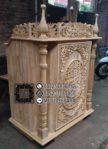 Mimbar Podium Masjid Ukir Jepara Ready Stock