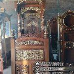 Bentuk Mimbar Kayu Podium Minimalis Masjid Di Cirebon