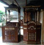 Mimbar Untuk Masjid Unik