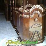 Mimbar Podium Masjid Minimalis